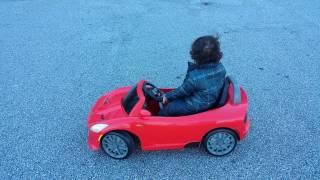 KidTrax SRT Viper 6 Volt Ride-On Car - Red