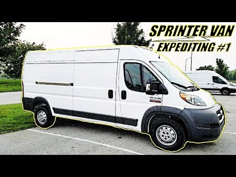 First Three Weeks Out | Sprinter Van Expediting Ep 1