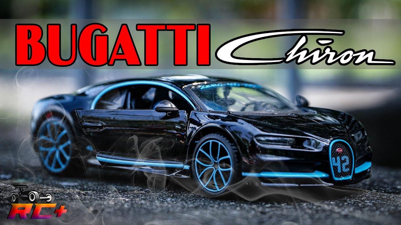 BUGATTI Chiron Model car - Diecast 1/24 supercar bugatti - Rc Plus