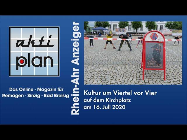 Hip-Hop Tanz Workshop auf dem Kirchplatz in Sinzig