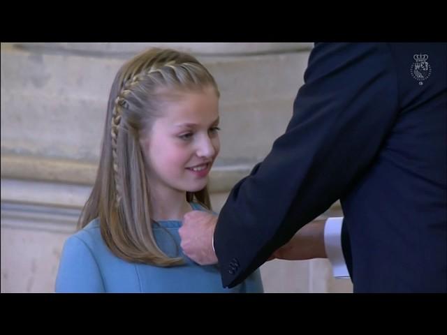 Acto de imposición del Collar de la Insigne Orden del Toisón de Oro a S.A.R. la Princesa de Asturias