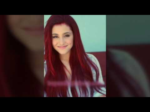 Ariana Grande red hair images