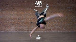"21. Air twist (Power move) | Видео уроки брейк данс от ""Своих Людей"""