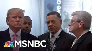 Rev. Al Sharpton And Darrell Scott Spar Over President Donald Trump's Civil Rights Speech | MSNBC