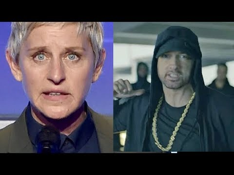 Thumbnail: CELEBRITIES REACT TO EMINEM DONALD TRUMP DISS FREESTYLE CYPHER