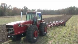 IH 3588 2+2 & #710 Automatic Plow with  Camera angles (BJPD)