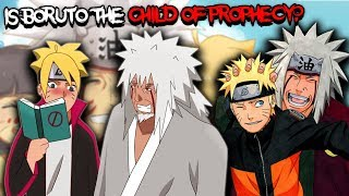 is Boruto The Child of Prophecy Jiraiya Talked About?
