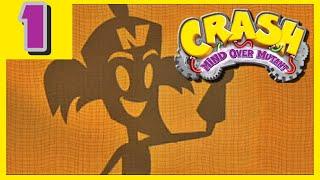 Crash Guerra al Coco Maniaco - » Parte 1 / OPENING / MISION 01 « - Español Wii [HD]