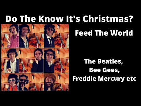 Do They Know its Christmas  The BeatlesBee GeesFreddie Mercury etc