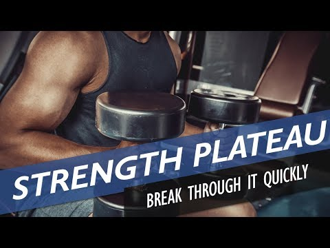 How to break through a strength plateau in bodybuilding