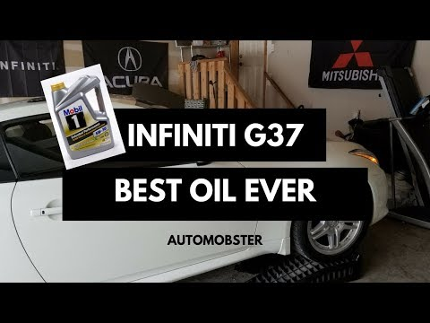 Infiniti G37 Synthetic Oil Change