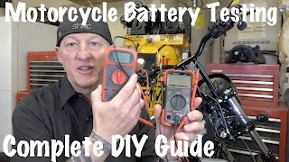 Gambar cover How to Test Motorcycle Battery & Charging System-Multimeter or Voltmeter | DIY