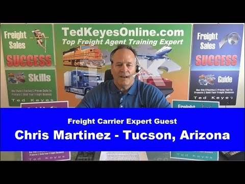 [TKO] ♦ Live Interview - Freight Carrier Expert CHRIS MARTINEZ ♦ TedKeyesOnline.com