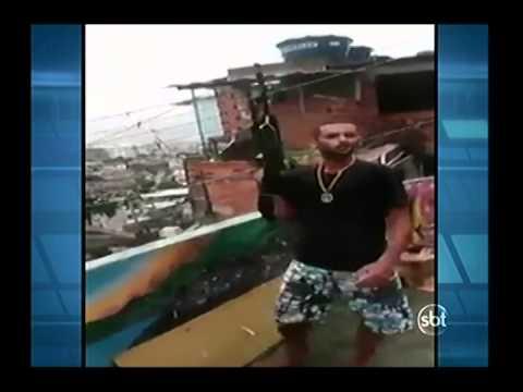 Vídeo mostra bandido ameaçando a polícia no morro do Juramento