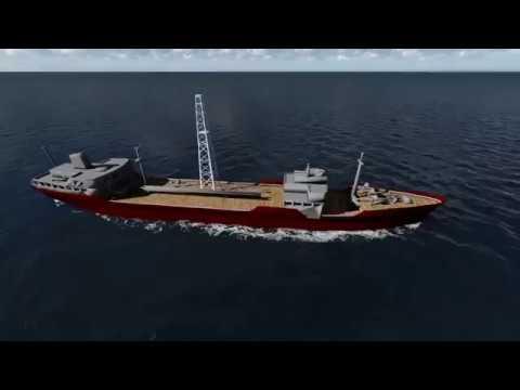 Drill Ship 3D Animation - Maya + Lumion + Premiere (by BbobyMk)