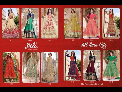 Latest Indian Anarkali Suits Collections 2017 || Bela Fashion || All Time Hit.