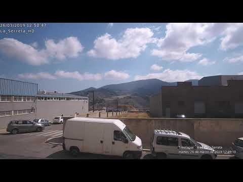 Timelapse Alcoi - La Serreta 26-03-2019