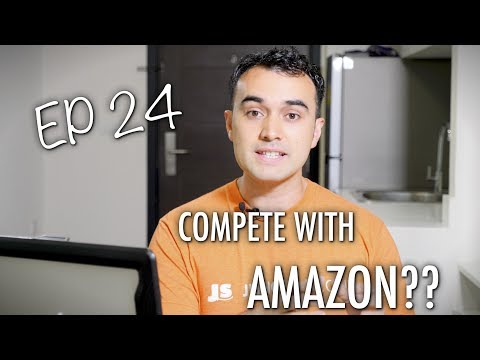 Should I compete against Amazon?? - ASK JUNGLE SCOUT EP 24