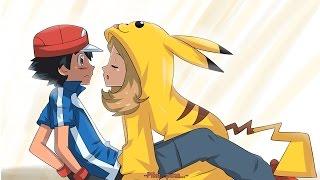!!SERENA BESA A ASH!! ultimo capitulo de pokemon xyz