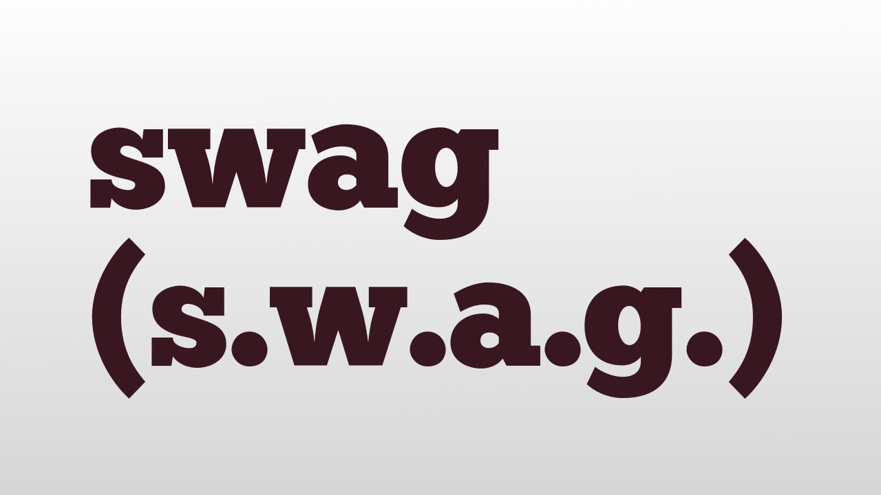 What does SWAG mean