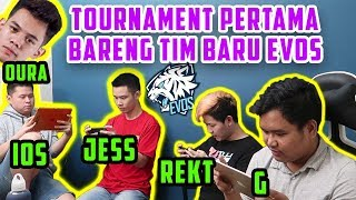 VLOG TOURNAMENT PERTAMA BARENG TIM BARU! WELCOME G, REKT!