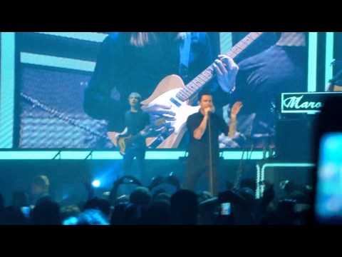 """Maroon 5 """"Payphone"""" Live Verizon Center DC 4/3/2013"""