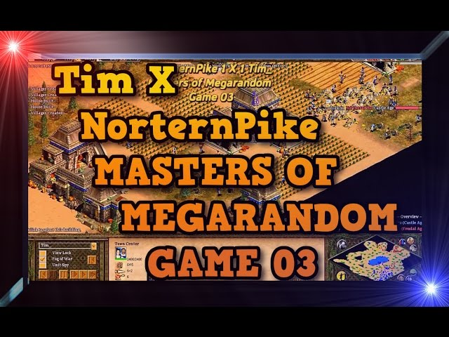 Age of Empires 2 HD Tim X NorternPike Game 03 MoMR Round3 AoE2HD Gameplay PT BR
