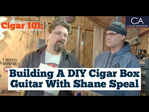 Building a DIY Cigar Box Guitar with Shane Speal - Cigar Advisor