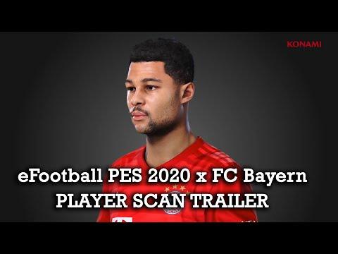 eFootball PES 2020 x FC Bayern München - Player Scan Trailer