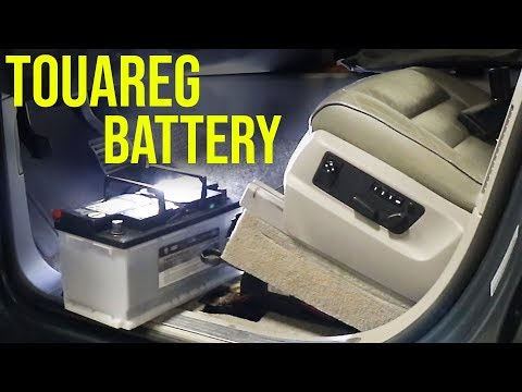 How to Replace a Battery on a VW Touareg (Under the Seat)