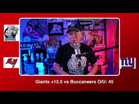 New York Giants vs Tampa Bay Buccaneers NFL Pick & Prediction Monday 11/2/20 Week 8 NFL | Pick Dawgz