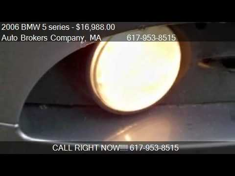 2006 Bmw 5 Series 525xi For In Somerville Ma 02143