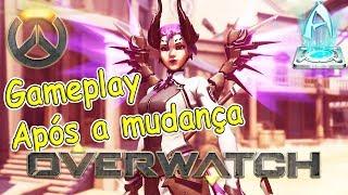 Overwatch, Teste de Gravação com a Mercy, Gameplay