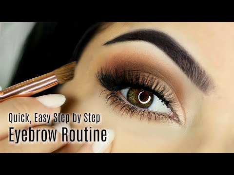 Beginners Eye Brow Makeup Tutorial | Parts of the Eye Brow | How To Fill In Eye Brow