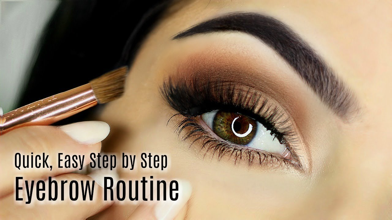 Beginners Eye Brow Makeup Tutorial  Parts of the Eye Brow  How To Fill In  Eye Brow