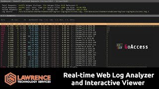 GoAccess: Open Source Real-time Web Log Analyzer and Interactive Viewer