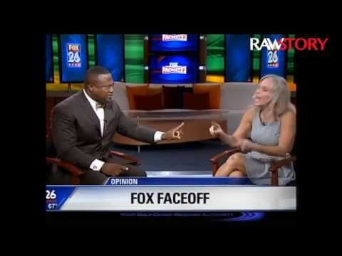 Quanell X and Angela Box debate cop who body slammed 16-year-old girl