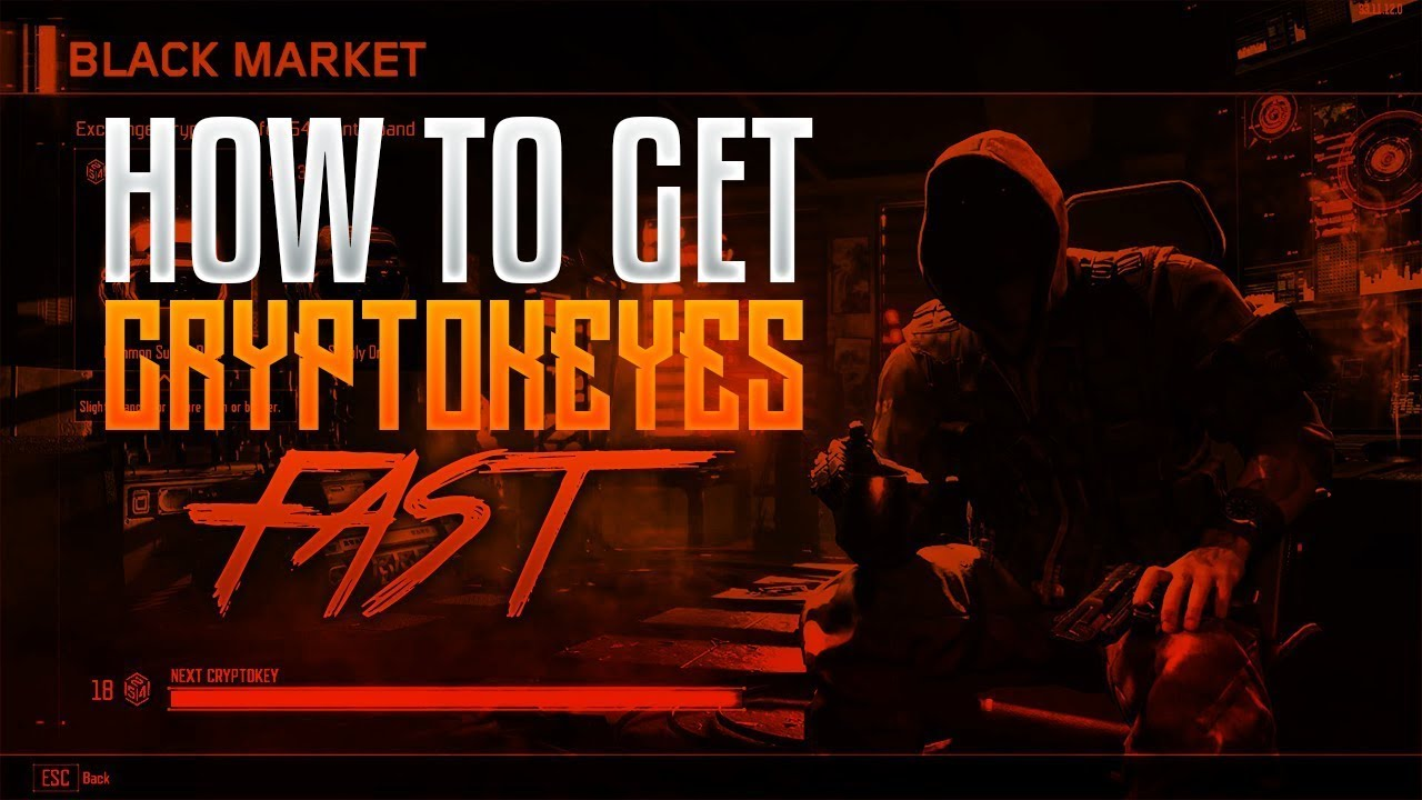 How To Earn Crypto Keys Faster in Black Ops 3 - YouTube