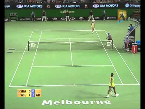 Sharapova v Williams: 2007 Australian Open Women's Final