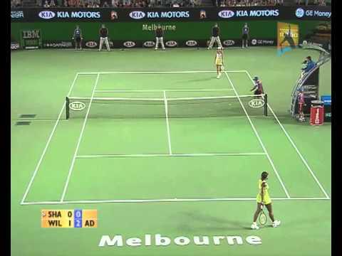 Sharapova v Williams: 2007 Australian Open Women's Final