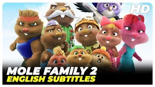 Mole Family 2 - Spell Of The Shadow | Turkish Comedy Full Movie ( English Subtitles )