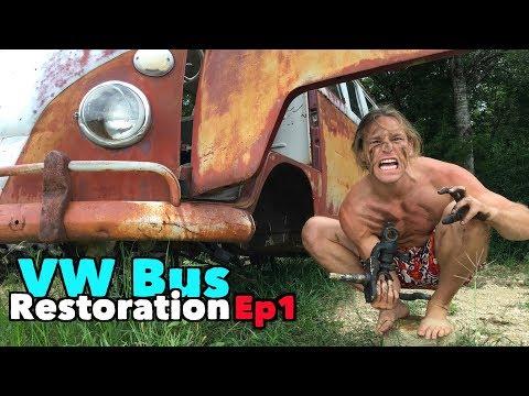 VW Bus Restoration - Episode 1! Lets get started!!