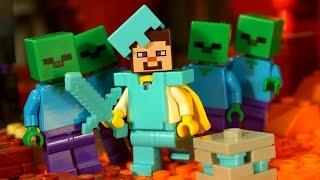 Мультфильм МАЙНКРАФТ ! Лего Мультики для Детей :) Lego Minecraft Stop Motion Animation