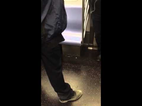 Chad L. Coleman Losing His Shit On The 4 Train