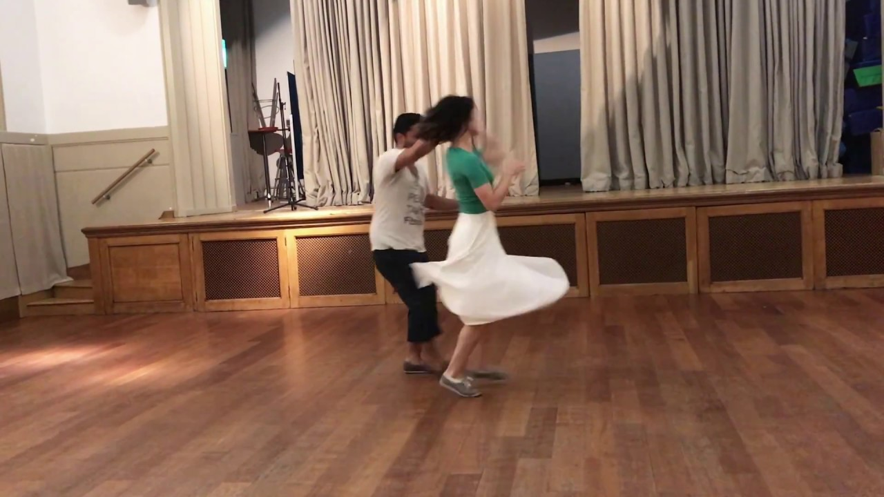 Advanced Routine | Lindy Hop class with Josh & Sharon | 1st August 2018