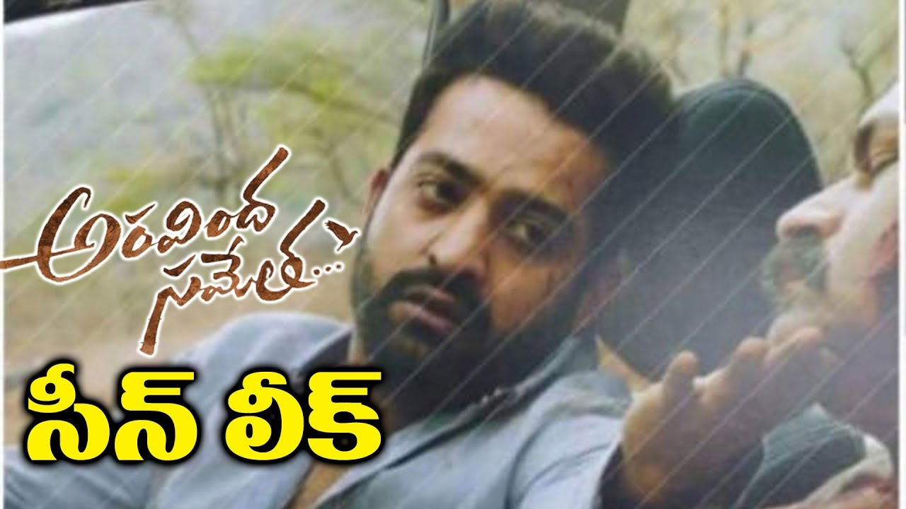 director-trivikram-srinivas-jr-ntr-new-look-aravin