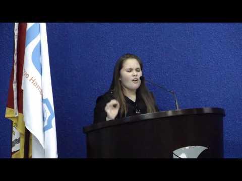 Oratória nas Escolas  JCI Novo Hamburgo - Ana Queiroz