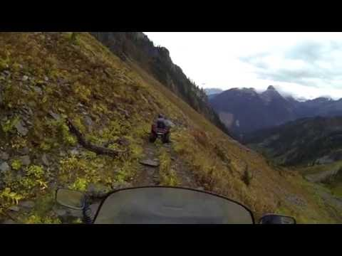 Triune Mountain Silver Mines - ATV Trail at Trout Lake, BC