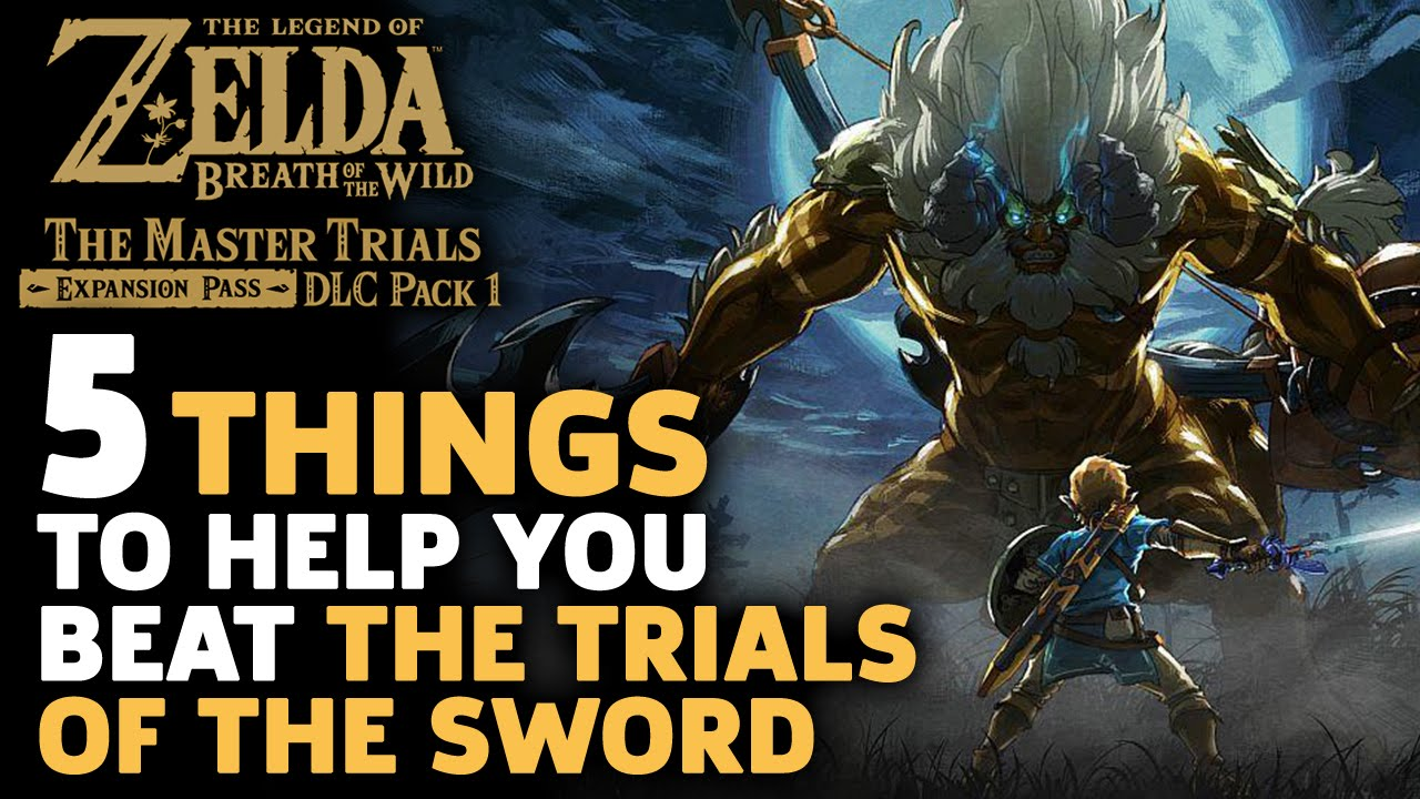 5 Essential Tips To Help You Beat The Trials Of Sword Zelda Feel Free Cut Tip Make It More Swords Breath Wild