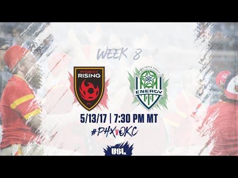 USL LIVE - Phoenix Rising FC vs OKC Energy FC 5/13/17